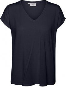 Vero Moda Dámské triko VMAVA 10231343 Black XS