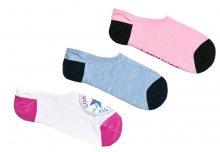 Converse 3 PACK - dámské ponožky E753A 39-42