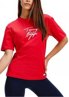 Tommy Hilfiger Dámské triko UW0UW02262-XCN XS