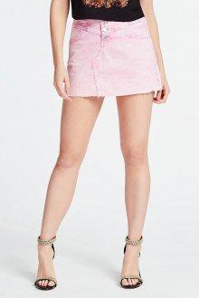 Guess růžová denimová sukně - 26