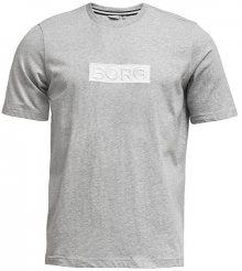 Björn Borg Pánské triko 2011-1042-90741 Light Grey Melange M