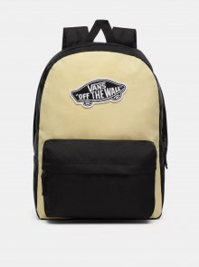 Černo-žlutý batoh VANS 22 l