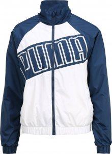 PUMA Sportovní bunda \'Feel It\' tmavě modrá / bílá