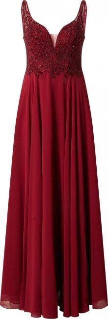 mascara Společenské šaty \'MC181487\' vínově červená