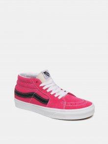 Růžové dámské semišové tenisky VANS
