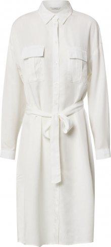 ONLY Košilové šaty bílá