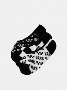 Sada třech párů ponožek v bílé a černé barvě VANS