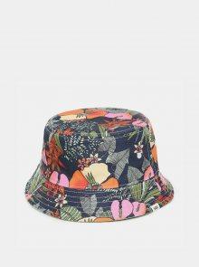 Zelený dámský květovaný oboustranný klobouk VANS
