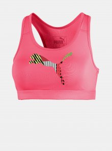 Růžová sportovní podprsenka Puma