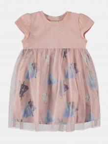 Růžové holčičí šaty name it Frozen