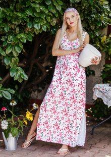 Dámské šaty LHD 505 A20 bílá XL