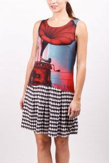 Culito from Spain barevné šaty Fonografo  - S