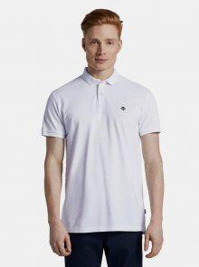Bílé pánské polo tričko Tom Tailor Denim