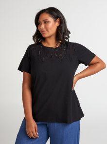 Černé tričko Zizzi