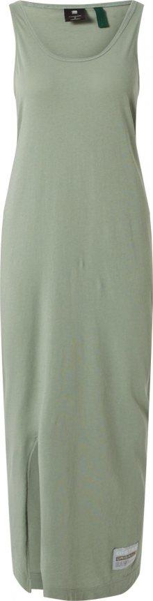 G-Star RAW Letní šaty \'Lyker\' světle zelená