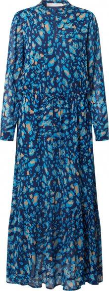 InWear Košilové šaty \'ClariceI\' béžová / modrá / světlemodrá