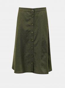 Zelená sukně ONLY Viva
