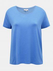 Modré basic tričko ONLY CARMAKOMA