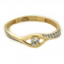 Zlatý prsten 16078