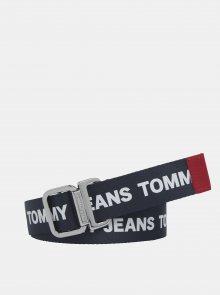 Tmavě modrý dámský pásek Tommy Hilfiger