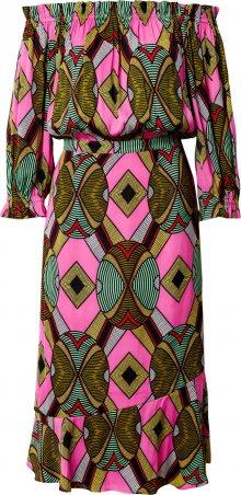 Essentiel Antwerp Šaty \'Watata\' zelená / pink