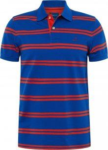 GANT Tričko \'D1\' červená / tmavě modrá
