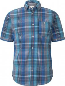 TOM TAILOR Košile modrá / mix barev