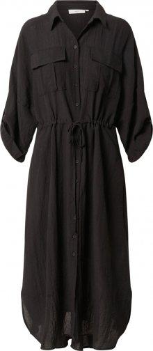 minimum Košilové šaty \'Spinosia\' černá