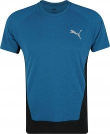 PUMA Funkční tričko noční modrá / modrá