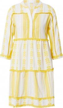 Rich & Royal Šaty bílá / žlutá