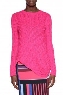 Desigual růžový svetr Kache