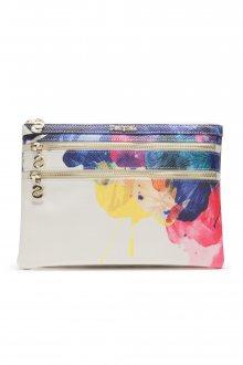 Desigual bílá kosmetická taška Corel Multi Zip