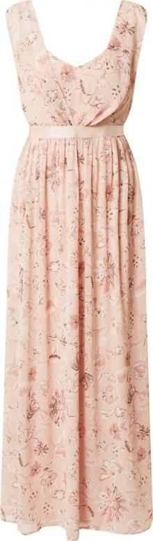 VILA Šaty \'VIRILLA\' růžová / mix barev