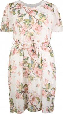 Z-One Letní šaty \'Florina\' mix barev / bílá