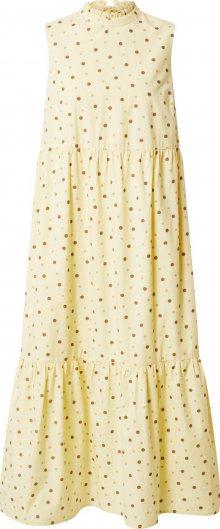 PIECES Šaty mix barev / béžová