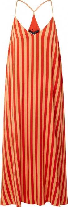 SCOTCH & SODA Letní šaty oranžová / broskvová