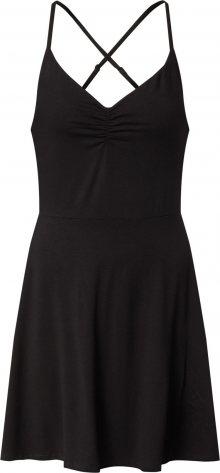 UNITED COLORS OF BENETTON Šaty černá
