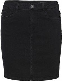Vero Moda Dámská sukně VMHOT SEVEN 10231638 Black XS