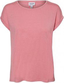 Vero Moda Dámské triko VMAVA 10195724 Wild Rose XS