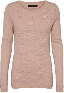 Vero Moda Dámský svetr VMMINNIECARE 10223540 Sepia Rose XS
