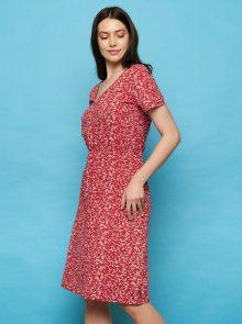 Tranquillo červené letní šaty - XS