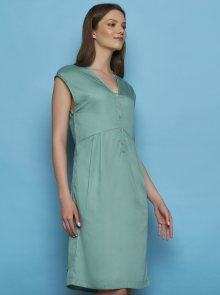 Tranquillo mentolové šaty Otilie - L