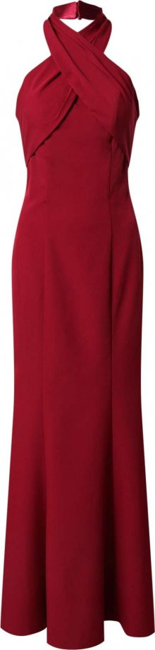 Chi Chi London Společenské šaty burgundská červeň
