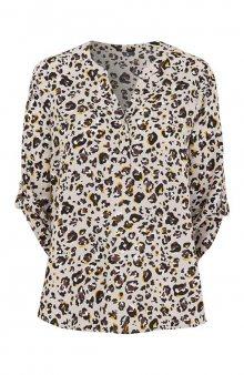 Halenka se vzorem / leopardí/se vzorem