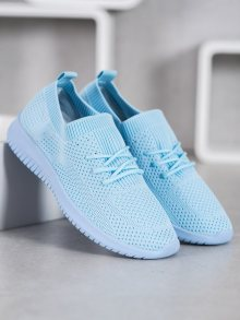Praktické  tenisky modré dámské bez podpatku 37