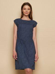 Tranquillo tmavě modré šaty Tea - S