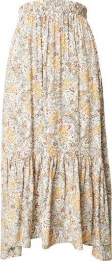 Cotton On Sukně \'Gypsy Tiered\' mix barev / písková
