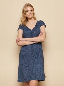Tranquillo modré šaty Zolile - S