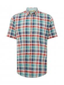 CAMEL ACTIVE Košile červená / bílá / modrá / zelená