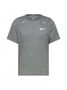 NIKE Funkční tričko \'Rise 365 Future Fast\' bílá / šedý melír / oranžově červená / oranžová / vínově červená / fialová